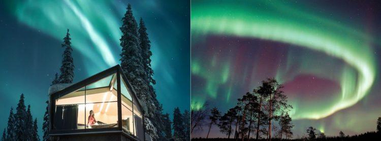 sejour voyage finlande laponie 2020 2021 2022 hotel igloo de verre glass igloo aurores boreales scandinavie suede norvege