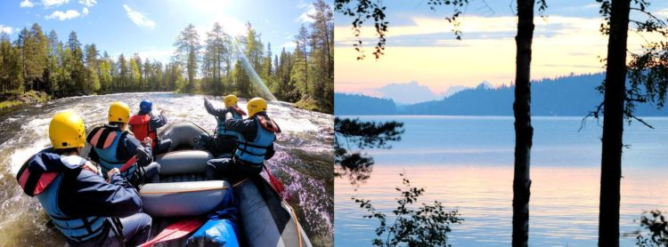 voyage sejour rafting printemps ete 2020 2021 2022 sport outdoor nature trek finlande laponie norvege suede scandinavie